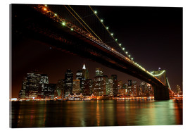 Cuadro de metacrilato  Manhattan Skyline, New York, United States - Roberto Sysa Moiola