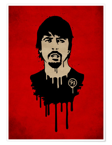 Póster FooFighter