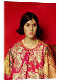 Cuadro de metacrilato  The Exile: Heavy is the Price I Paid for Love - Thomas Cooper Gotch