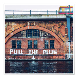 Póster Berlin - Pull the Plug