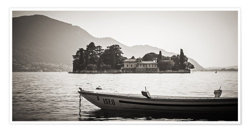 Póster Italy - Lake Iseo