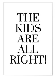 Póster The kids are all right!