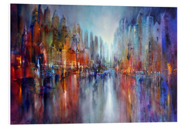 Forex  City by the river - Annette Schmucker