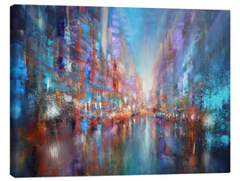 Lienzo  the blue city - Annette Schmucker