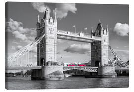 Lienzo  London, Tower Bridge Black and White - rclassen