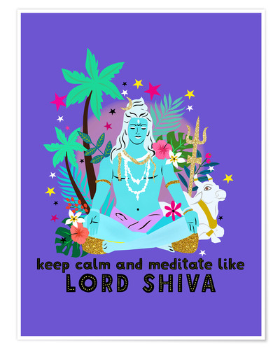 Póster Lord Shiva