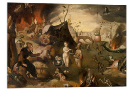 Cuadro de PVC  The Temptations of St. Anthony - Hieronymus Bosch