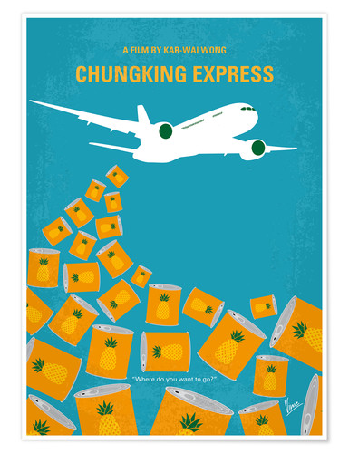Póster Chungking Express
