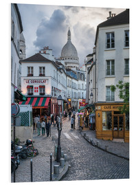 Forex  Streets of Montmartre and Sacre Coeur - Jan Christopher Becke