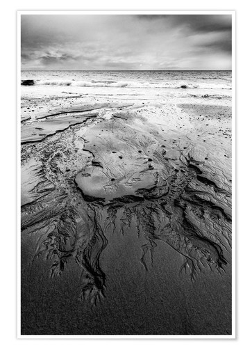 Póster Shapes in the sand