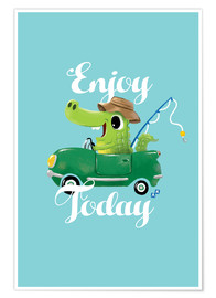 Póster Enjoy Today