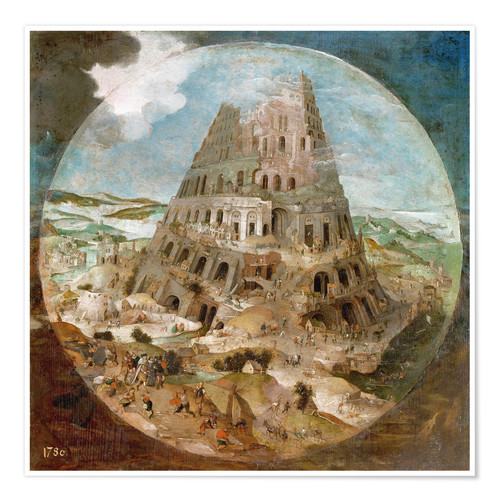 Póster Tower of Babel