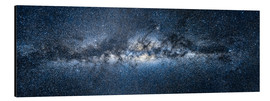 Aluminio-Dibond  Milky Way Panorama - Jan Christopher Becke