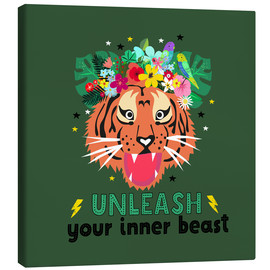 Lienzo  Unleash your inner beast - Elisandra Sevenstar