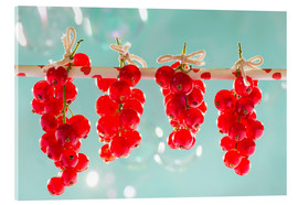 Cuadro de metacrilato  Red currants full - K&L Food Style