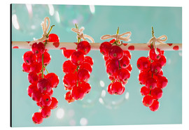 Aluminio-Dibond  Red currants full - K&L Food Style