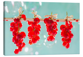 Lienzo  Red currants full - K&L Food Style