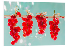 Cuadro de PVC  Red currants full - K&L Food Style