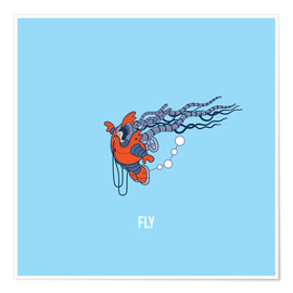 Póster Fly