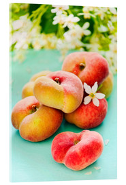 Cuadro de metacrilato  Peaches full - K&L Food Style