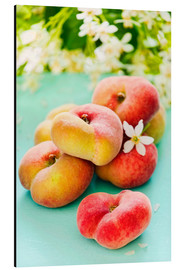 Aluminio-Dibond  Peaches full - K&L Food Style