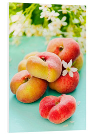 Cuadro de PVC  Peaches full - K&L Food Style