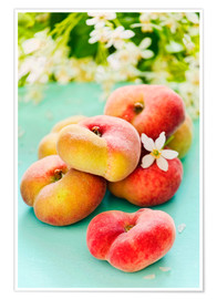 Póster  Peaches full - K&L Food Style