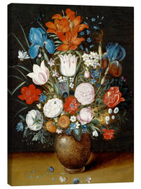 Lienzo  Bouquet of flowers in a vase - Jan Brueghel d.J.