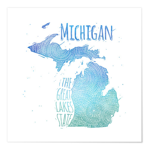 Póster michigan