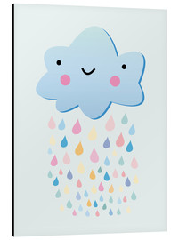Aluminio-Dibond  Happy little cloud - Kidz Collection