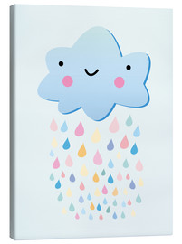 Lienzo  Happy little cloud - Kidz Collection