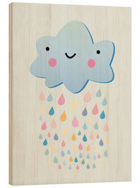 Madera  Happy little cloud - Kidz Collection