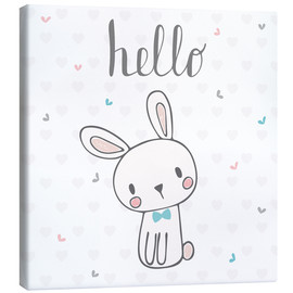 Lienzo  Hello Bunny - Kidz Collection