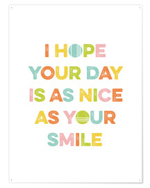 Póster As nice as your smile