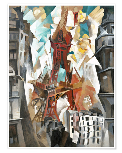 Póster Champs de Mars: The Red Tower