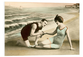 Forex  Romantic Victorian Couple on the Beach