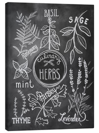 Lienzo  30743 Herbs - Lily & Val