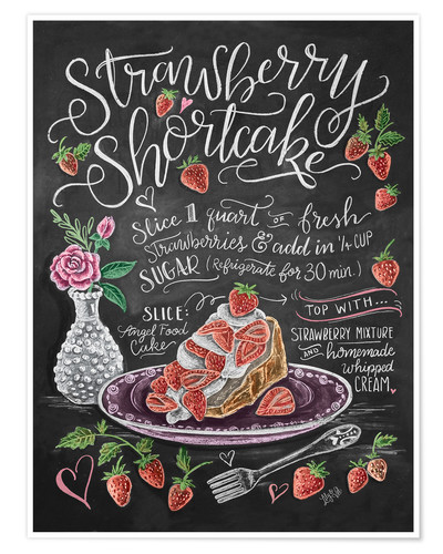 Póster 30031 Strawberry Shortcake