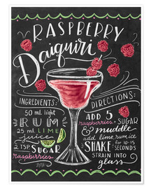 Póster  30256 raspberrydaiquiri - Lily & Val