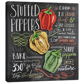 Lienzo  30482 stuffedpeppers - Lily & Val