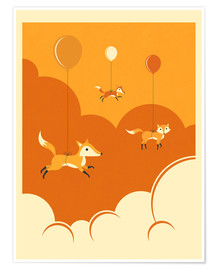 Póster FLOCK OF FOXES