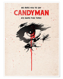 Póster Alternative candyman movie art print