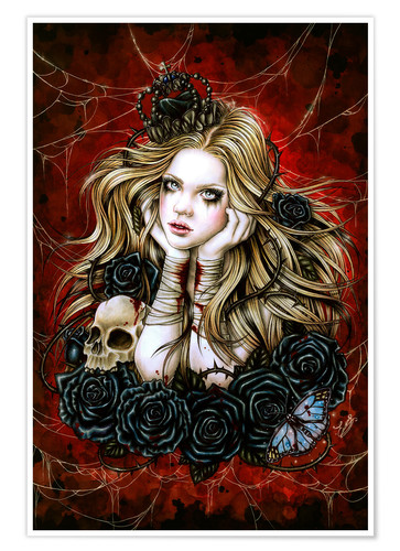 Póster Mad Queen Alice