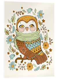 Metacrilato  Autumn owl - Kidz Collection