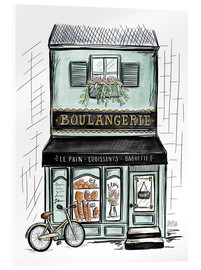 Metacrilato  French Shop Front - Boulangerie - Lily & Val
