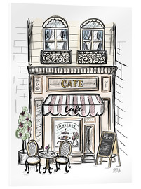 Metacrilato  French Shop Front - Café - Lily & Val