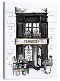Lienzo  French Shop Front - Fleuriste - Lily & Val