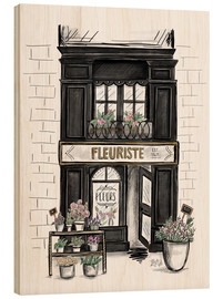 Madera  French Shop Front - Fleuriste - Lily & Val