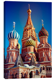 Lienzo  St. Basil's Cathedral, Russia