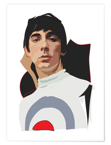 Póster Keith Moon